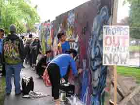 Graffitti at Grandview Park