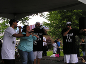 Platino Latin Productions performing at Grandview Park