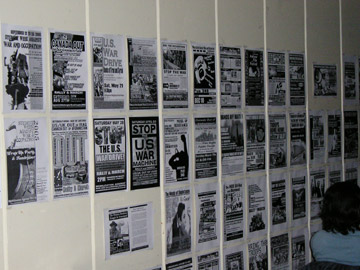 Over 2 years of MAWO's posters, events, and history, building the antiwar movement.