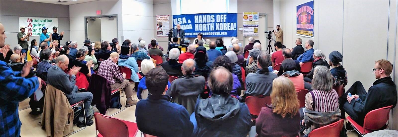 north korea forum participants