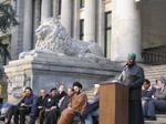United Rally Against Racist Cartoons