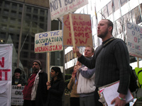 Picketers Against the Occupation of Afghanistan March 13, 2006